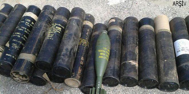 IŞİD cephaneliğinden İsrail yapımı silah ve zehirli maddeler çıktı
