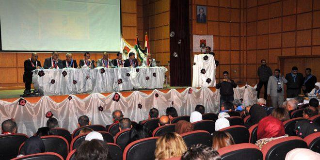 Baas Öncüleri Şam Çevre Kent Şubesi yıllık kongresini düzenledi