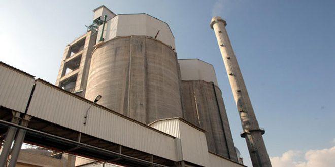 En Büyük Çimento Fabrikası Onarılıyor