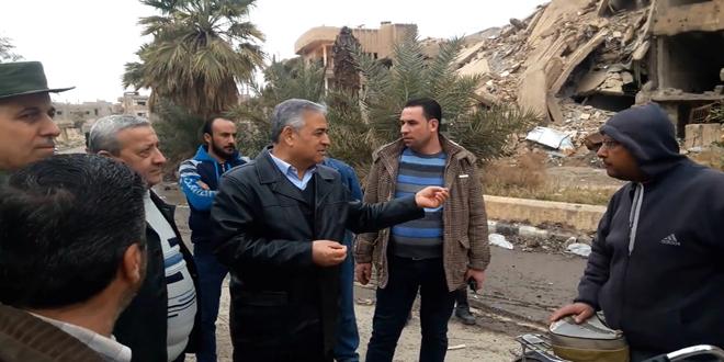 Suriye ordusu enkaz kaldırma çalışmalarına devam ediyor