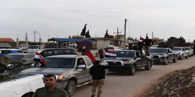 Halk Güçlerinin Bir Kısmı Daha Afrin'e Ulaştı