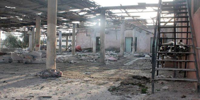 Erdoğan Güçleri Zeytin Pres Fabrikasını Bombaladı
