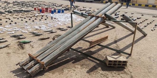 Deyrezzor kırsalında IŞİD yuvalarında İsrail yapımı mühimmat ve silahlarla birlikte radikal örgütün çocukları eğittiği kamplar bulundu.