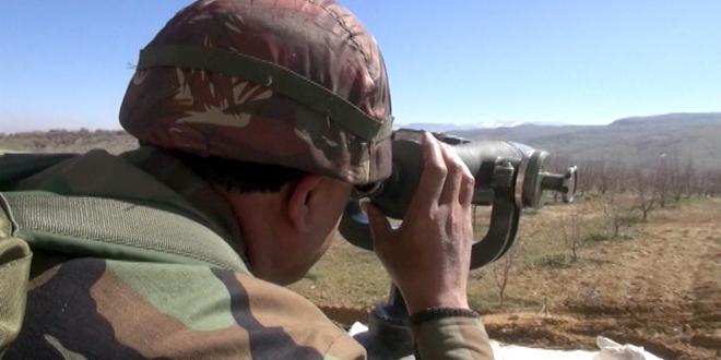Lübnan'dan Sızmaya Çalışan Teröristler Geri Püskürtüldü