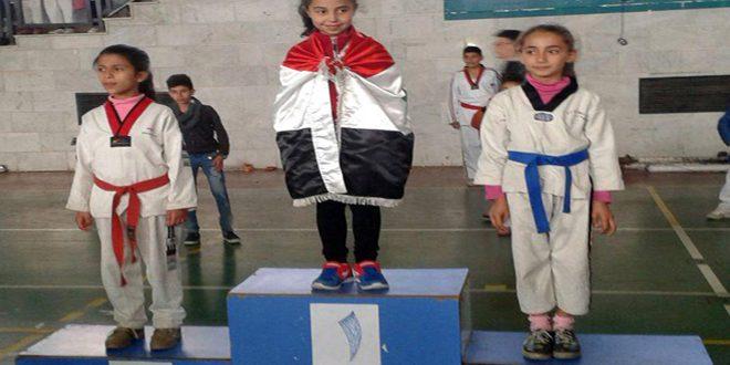 Süveyda'da Cumhuriyet Tekvando Şampiyonası maçları sona erdi