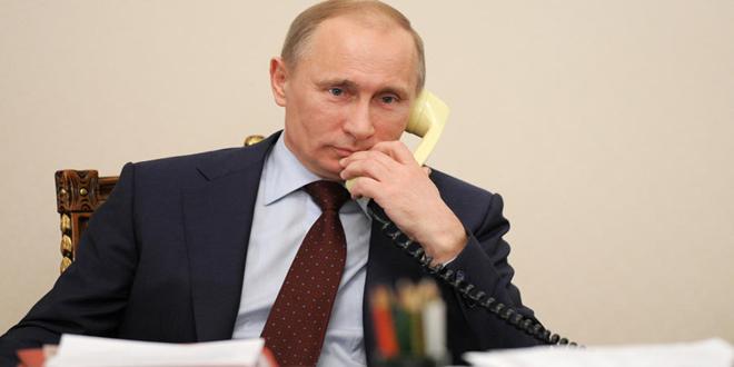 Putin Macron ve Merkel ile Telefon Görüşmesinde Bulundu