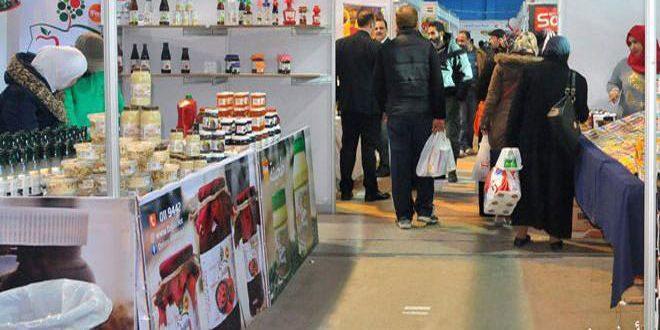 Suriye'de üretilen yerli ürünler ekonomiye can verdi