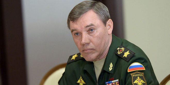 Gerasimov: Suriye'deki Savaş Yeni Nesil Bir Savaştır