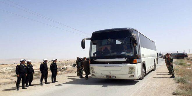 Silahlarını Teslim Etmeleri Ardından Cerablus'a Aktarılıyorlar