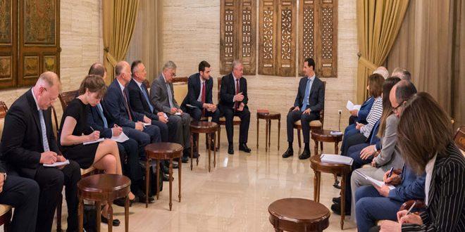 El Esad: Dar Görüş ve Çıkarlara Sahip Ülkeler Siyasi Çabaları Engellemeye Çalışıyor