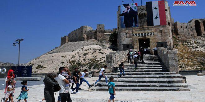 Halep Kalesi Kapılarını Yeniden Ziyaretçilere Açtı (video)