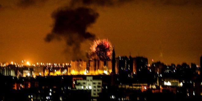 İsrail Gazze'de Bir Dizi Mevkii Bombaladı