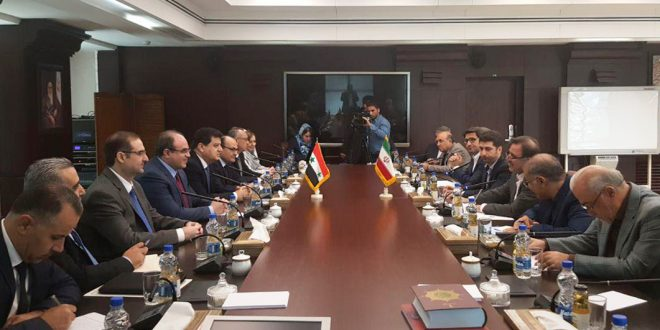 Suriye ve İran Stratejik Ekonomik İşbirliğini Geliştiriyor