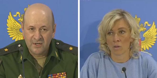 Rus Dışişleri ve Savunma Bakanlıkları Ortak Basın Toplantısı Düzenledi