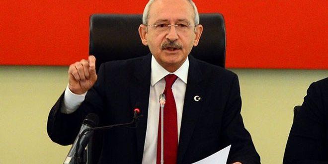 Kılıçdaroğlu: Suriyelilerin Vatanlarına Dönme Zamanları Gelmiştir