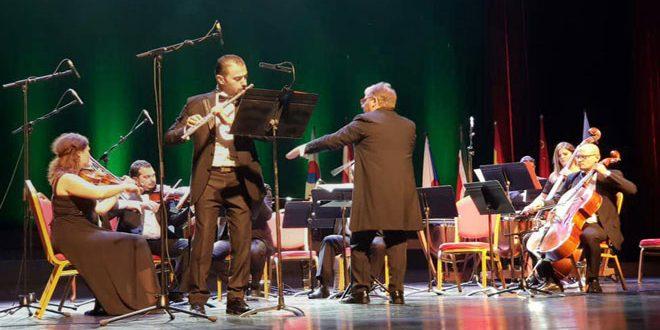 Senfoni Orkestrası Doğulu ve Batılı Eserleri Yorumladı