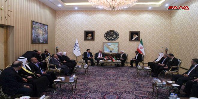 Parlamenter Dostluk Grubu Tahran'da Toplandı