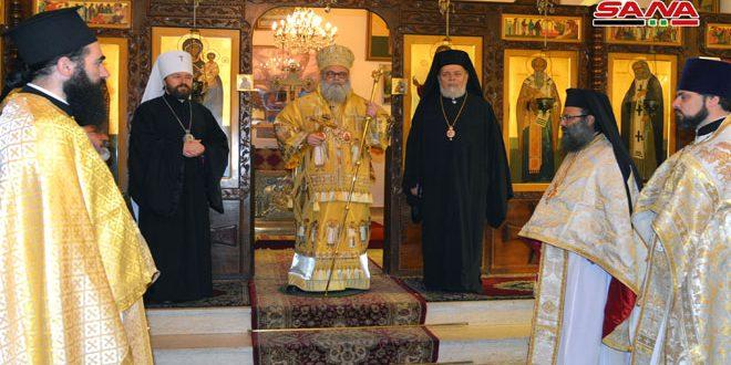 Antakya Patrikliğinde Rus Kilisesi Temsilciliğinin Bulunması Yıldönümü Ayinle Kutlandı