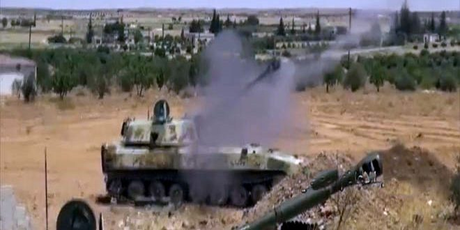 Ordu Hama Kuzeybatı Kırsalında Teröristlerin Sızma Girşimlerini Çökertti Ölü Ve Yaralı Düşürdü
