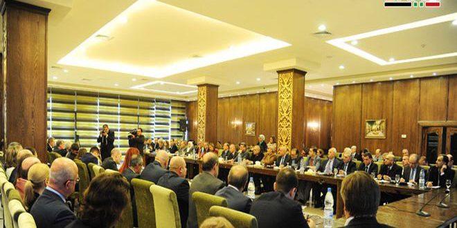 Suriye-Rusya Ortak Komitesi Hazırlık ToplantılarınaBaşladı.. Muhtelif Sektörlerde 20'den Fazla Belge Ele Alındı
