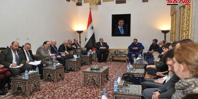 Sabbağ: Suriye-Rusya İlişkileri Muhtelif Alanlarda Gelişiyor
