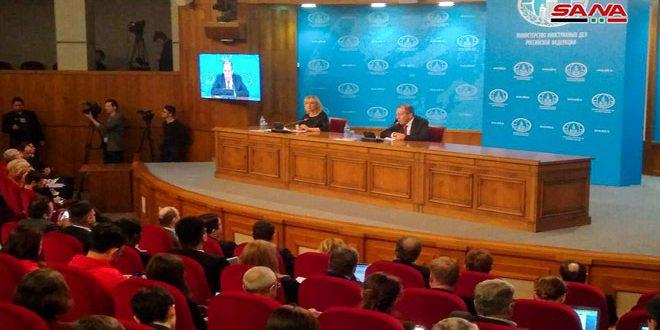 Lavrov: İdlib Terörden Kurtarılmalı, Fırat'ın Doğusu da Devletin Kontrolüne Geçmeli