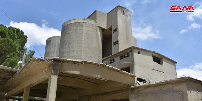Resten Çimento Şirketi, terörden kurtulduktan sonra güçlü bir ivme ile üretime devam ediyor