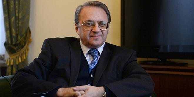 Bogdanov: İdlib'te Bu Kaçınılmaz Bir Durumdur