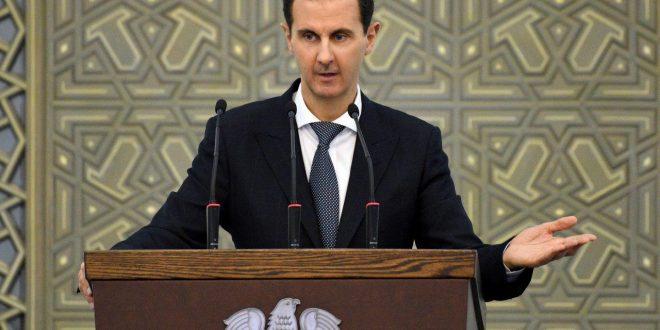 Cumhurbaşkanı el Esad tüm illerden yerel meclislerle bir araya gelerek halka seslendi (Video + foto)