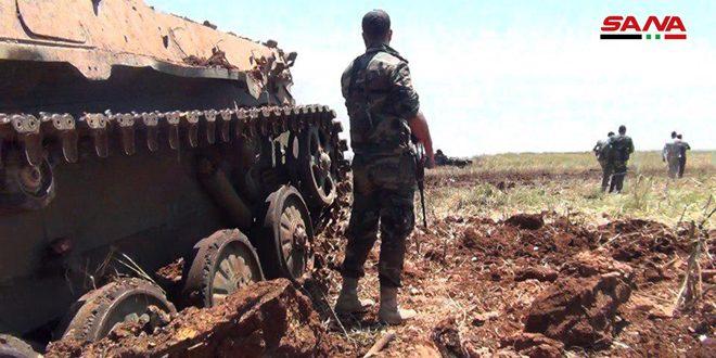 Hama ve İdlib'te Teröristlerin Yeni Saldırısı Çökertildi