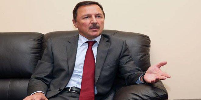 Yevimov: Suriye, Terör Örgütleriyle Mücadelesiyle Tüm Bölgenin Geleceğini Savunuyor