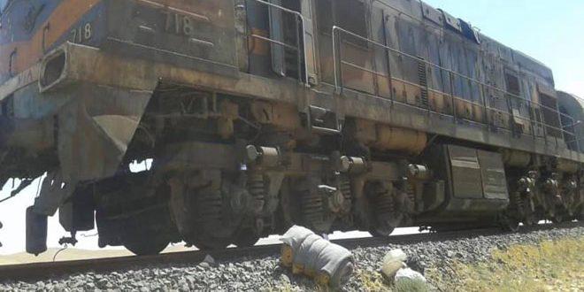 Doğu Homs Kırsalında Fosfat Yük Trenine Yönelik Terör Saldırısı