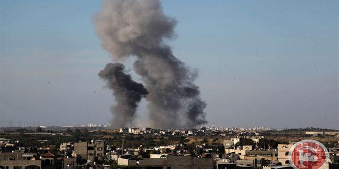 İsrail Yine Gazze'yi Bombaladı