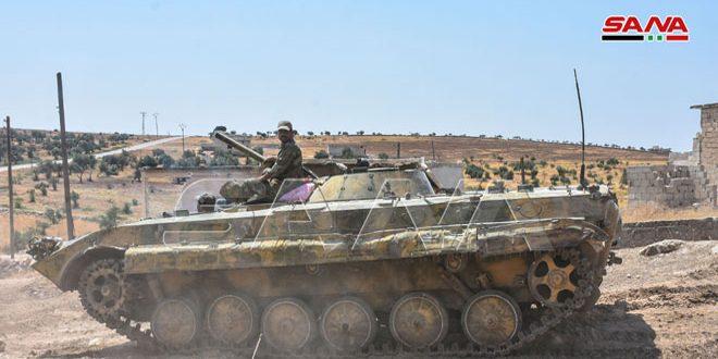Ordu İdlib Kırsalında Terörü Yok Edip İlerliyor