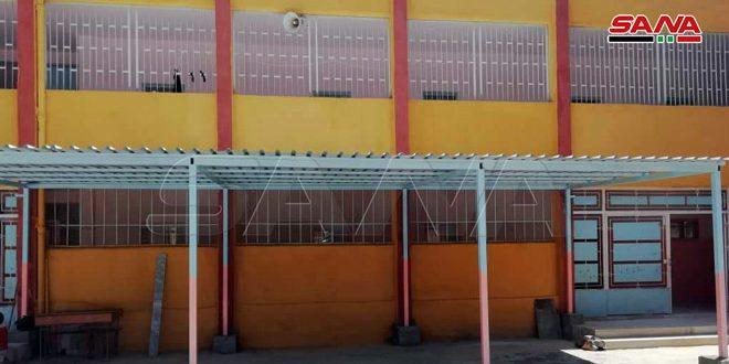 Haseke ve Kamışlı'da Terörden Zarar Gören 14 Okulun Restorasyonu Tamamlandı