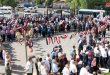 Dera'da Türk Saldırganlığına ve Suriyelilere Karşı Süregelen Suçlarına Karşı Protesto Gösterileri