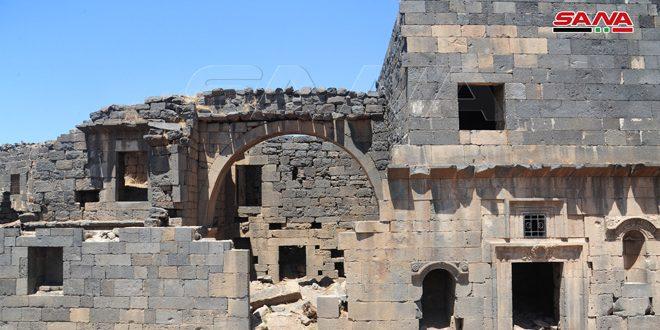 Dera İl Antik Eserler Müdürlüğü Tarihi Zeyn el Abidin Sarayının Onarım Çalışmalarını Başlattı