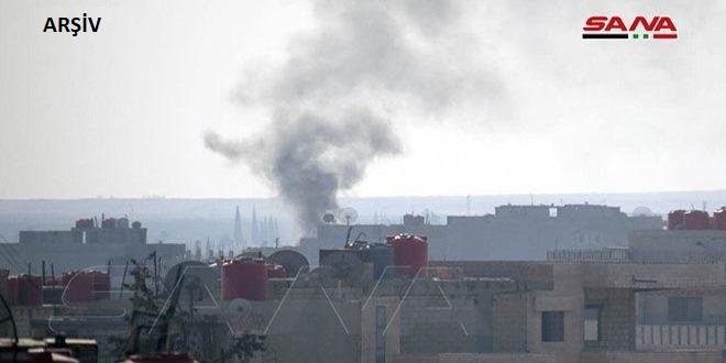 Türk Güçleri ve Onlara Tabi Teröristler Sivilleri Bombaladı