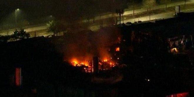 Amerika'nın Houston Şehrinde Büyük Patlama