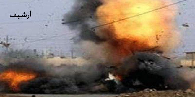 Rakka Kuzey Kırsalında Bombalı Araç Patladı İşgalci Türk Askerleri ve Kiralıklarından Bazıları Öldü