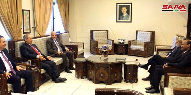 Mikdat, Hindistan Büyükelçisi'ni Kabul Etti.. Sımsıkı İlişkilere Vurugladılar