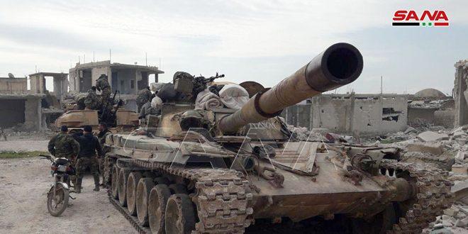 Ordu İdlib'in Güney Kırsalında 5 Köyü Terörden Kurtardı… Teröristlerin Der Sunbül ve Termala'ya Kadar Kovaladı