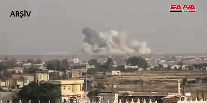 İşgalci Türk Kuvvetleri ve Kiralıkları Haseke Kırsalı Tel Temr Çevresine Roketlerle Saldırdı