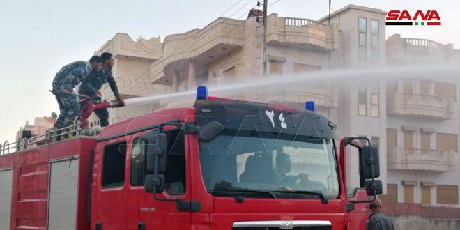 Dera Bölgesinde Çıkan Altı Yangın Söndürüldü