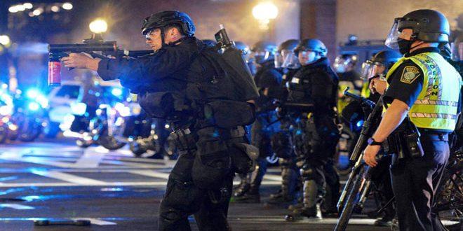 Popüler Protestolar Washington'da Genişlerken Trump Yeraltı Sığınağına Taşındı