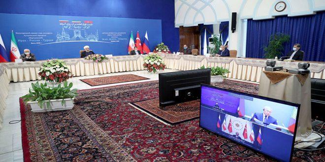 Astana Sürecinde Garantör Ülkelerin Başkanları: Suriye'nin Toprak Bütünlüğü ve Egemenliğine Bağlılık.. Terör Tamamen Yok Edilmeli..