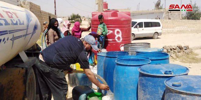 Türk İşgali Aluk İstasyonun Pompalama Miktarlarını Kontrol Edip Haseke'de Su Eksikliğine Neden Oluyor