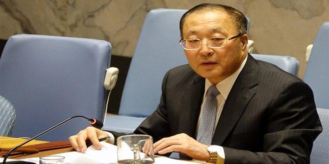 Çin Suriye'ye Uygulanan Tek Taraflı Zorlayıcı Ekonomik Yaptırımların Kaldırılması Çağrısını Yeniledi