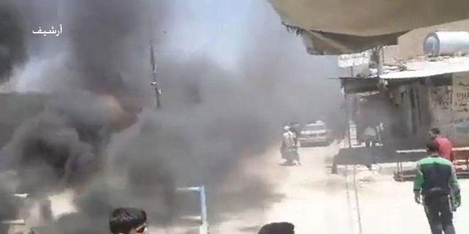 Üçüncü Günde.. Tel Hamis Nahiye Ahalisi DSG Gruplarını Protesto Etmeye Devam Ediyor