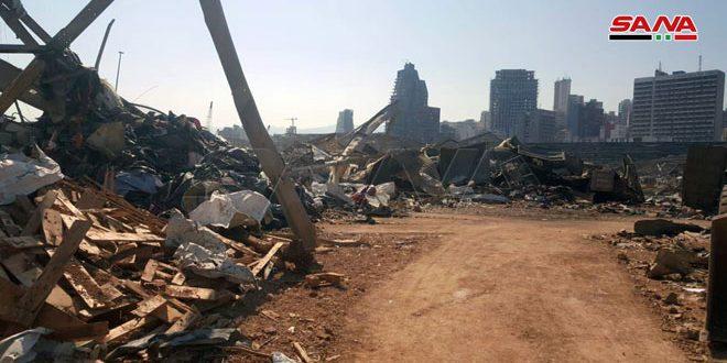Sağlık Bakanlığı: Sağlık: Beyrut Limanı Patlamasından Etkilenen Suriyelileri almak İçin Tüm Hizmetler Sağlanmaktadır